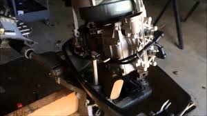 1964 5 5 hp johnson impeller and service part 1 youtube