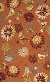 Burnt Orange Area Rugs Products In Reds Whimsical On Rug Studio