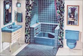 Blue Bathroom Fixtures Kitchen And Residential Design Still Stuck In The 60s That May