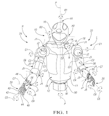 patent us8511964 humanoid robot google patents
