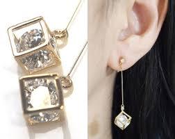 on earrings clip on earrings etsy