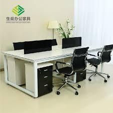 High Quality Computer Desk Desk Screen Card Staff Desk Henan Luoyang Pingdingshan City High
