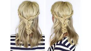 hairstyles for medium length hair with braids beautiful braid for medium length hair youtube