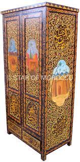 moroccan wardrobe armoire