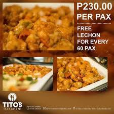 Urban Kitchen Catering Tito U0027s Kitchen Home Facebook