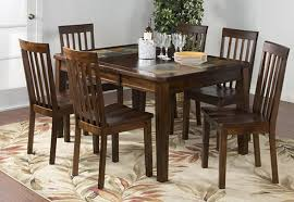 slate dining table set rustic dining table set and dining table