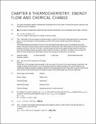 solutions to chapter 6 chapter 6 thermochemistry energy flow and
