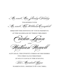 invitation wording etiquette best 25 wedding invitation wording exles ideas on