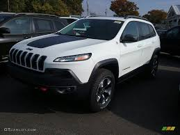 turbo jeep cherokee 2017 bright white jeep cherokee trailhawk 4x4 116757579