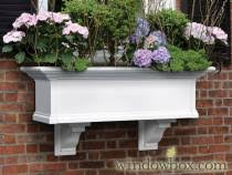 vinyl window boxes plastic window boxes vinyl flower boxes