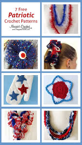 82 best independence day 4th of july holiday crochet patterns