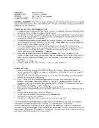 security cover letter examples security agent cover letter