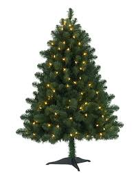 4 ft trees lights decoration