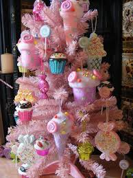 candy christmas tree candy pink christmas tree with cupcakes lollipops candie flickr
