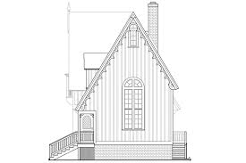 House Plans For Narrow Lot Victorian House Plans Langston 42 027 Associated Designs