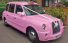 pink sparkly mercedes london wedding taxis tel 44 0 203 00 44 953