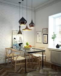 inspiring dining room pendant lights cheap to chic black pendant