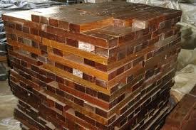 cylinders blocks lignum vitae wood bearings