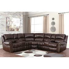 Livingroom Set Channing Top Grain Leather Power Reclining Sectional Living Room Set