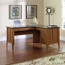 Office Depot L Shaped Desk With Hutch by Office Depot Corner Glass Computer Desk Hostgarcia