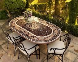 ceramic tile top patio table ceramic tile patio table outdoor tile top patio dining table and