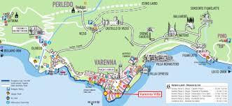 Local Map Varenna Villa Directions Lake Como Townhouse
