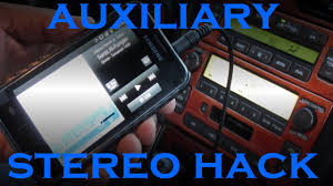 lexus is300 radio for sale lexus auxillary stereo input hack youtube