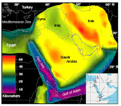 middle east earthquake zone map gsa4 gif