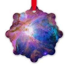 cone nebula snowflake ornament ornaments for astronomy
