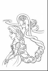 surprising disney princess rapunzel coloring pages printable