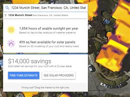 google u0027s project sunroof can tell you how much money you would