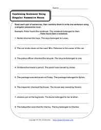 possessive nouns worksheet 3rd grade worksheets