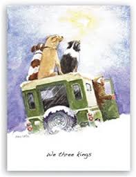 charity christmas cards u0027the cattle a lowing u0027 phb6734 in aid of