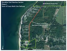 Buffalo New York Map Shoreline Trail Environment U0026 Planning
