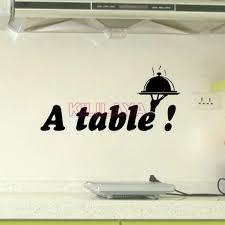stickers texte cuisine stickers cuisine texte a table vinyl wall decal sticker mural