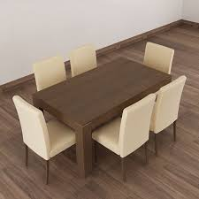 6 seater dining table and chairs coin repas 6 seater dining table set abesquare