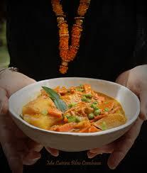 ma cuisine indienne curry de légumes à l indienne et au combava ma cuisine bleu combava