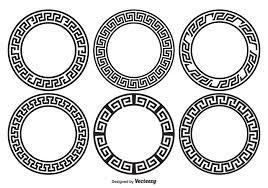 Greek Motifs Greek Key Border Style Frames Download Free Vector Art Stock