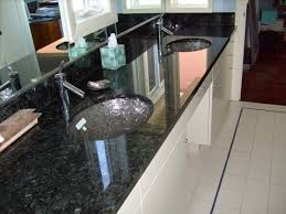 modern elegance emerald pearl bathroom counters with glass bowls