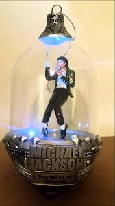 micheal jackson illuminated musical ornament