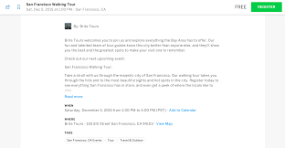invitation to media to cover an event what u0027s changing with eventbrite u0027s new event listings design