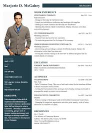 resume template professional professional resume cv templates with exles topcv me