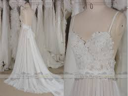 long sleeve split wedding dress casual illsuion lace wedding