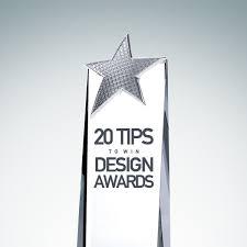 design award 20 tips to win design awards design trophy