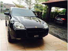 porsche cayenne 2005 turbo porsche cayenne 2005 turbo 4 5 in perak automatic suv black for rm