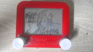 how to erase the etch a sketch youtube