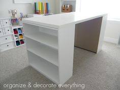 Sullivans Home Hobby Table Home Hobby Adjustable Height Foldable Table 59