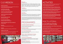 Chinese Study by Ics Institute Of Chinese Studies Ics Brochure
