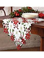 bella lux fine linens table runner amazon com christmas table runners kitchen table linens home