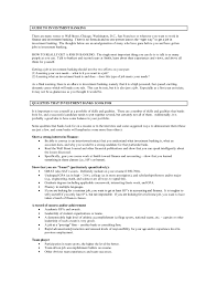 Job Resume Bank Teller by Investment Banking Resume Template Resume For Your Job Application